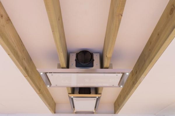 Airuno AU-SLIMLINE90CLA 90cm Stainless Steel Ceiling Hood