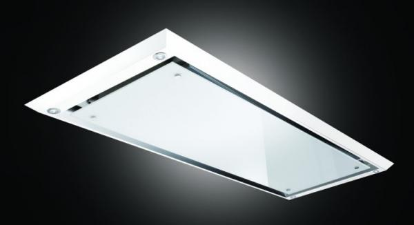 Airuno AU-SLIMLINE90WHG 90cm White Ceiling Hood