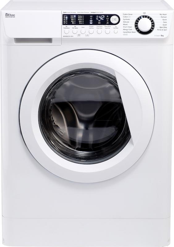 Ebac AWM86D2H-WH Dual Fill Washing Machine