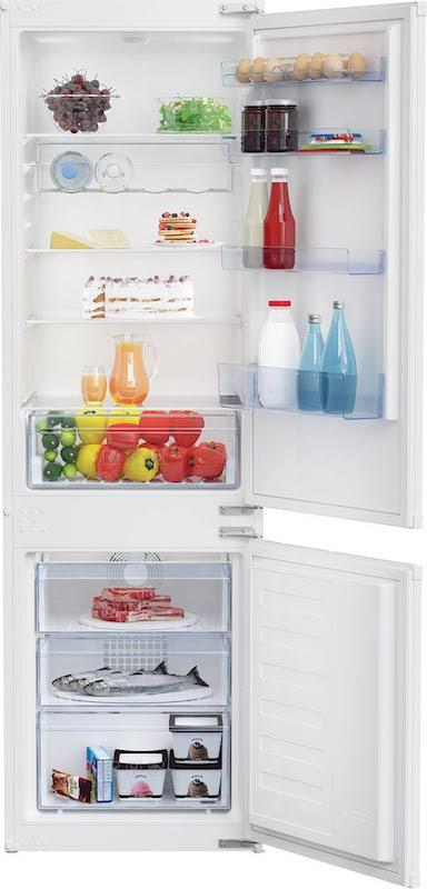 Beko BCFD373 Integrated 70/30 Frost Free Fridge Freezer