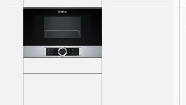 Bosch BEL634GS1B Built-In Microwave Oven with Grill