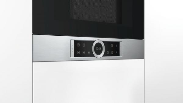 Bosch BFL634GS1B Built-In Microwave