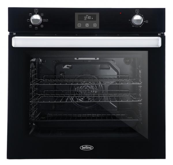 Belling BI602FPCT 444444776 Black Built-In Single Oven