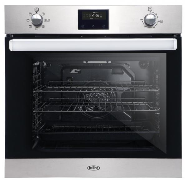 Belling BI602FP 444444773 Built-In Stainless Steel Single Oven