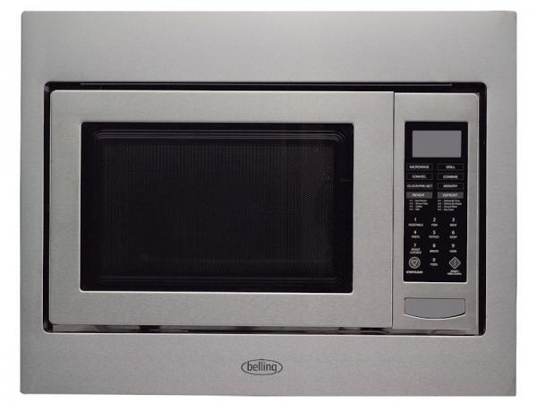 Belling BIMW60 444442598 Built-In Stainless Steel Microwave