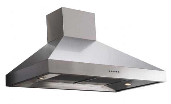 Britannia HOOD-BTH100-S 544440078 Latour 100cm Stainless Steel Chimney Hood