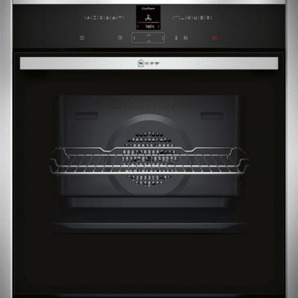 Neff B17CR32N1B Built-In Stainless Steel Single Oven