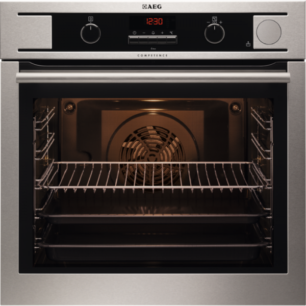 AEG BP501431EM Built-In Pyrolytic Single Oven