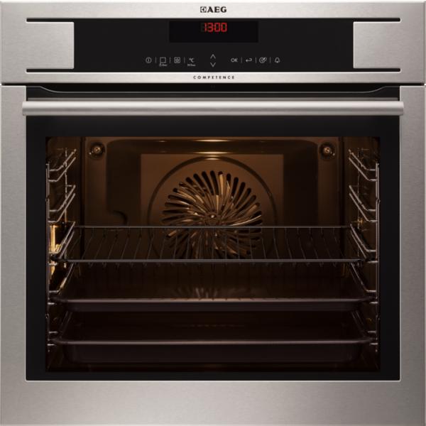 AEG BP831460KM Built-In Pyrolytic Single Oven