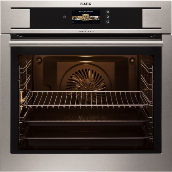 AEG BP831660KM Built-In Pyrolytic Single Oven
