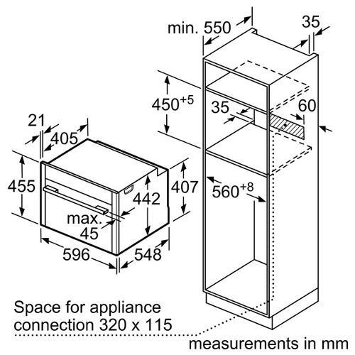 Neff C27CS22N0B Compact Slide & Hide Pyrolytic Single Oven
