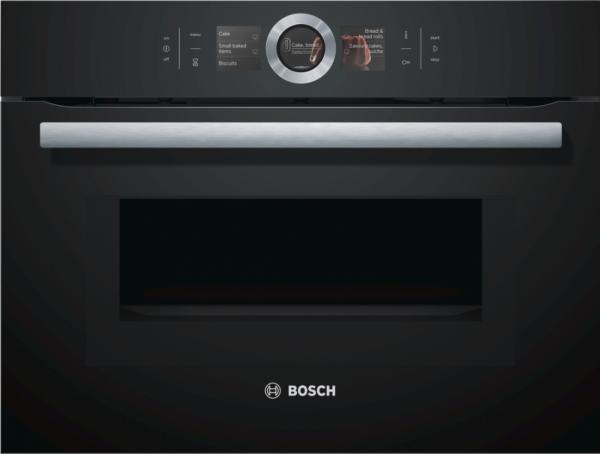 Bosch CMG656BB6B Built-In Compact Microwave Oven