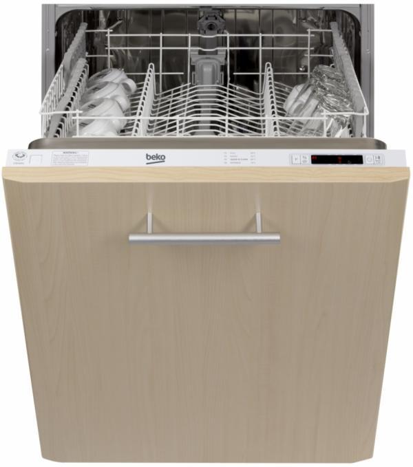 Beko DIN14C10 Built-In Full Size Dishwasher
