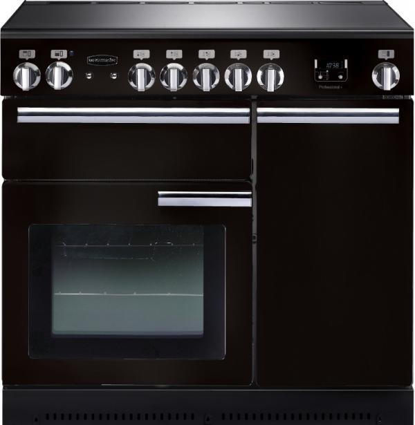 Rangemaster PROP90EIGB/C 91730 Professional+ 90cm Black Induction Range Cooker