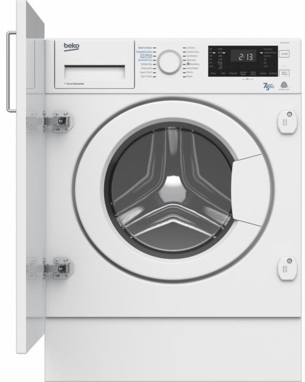 Beko WDIC7523002 Built-In Washer Dryer