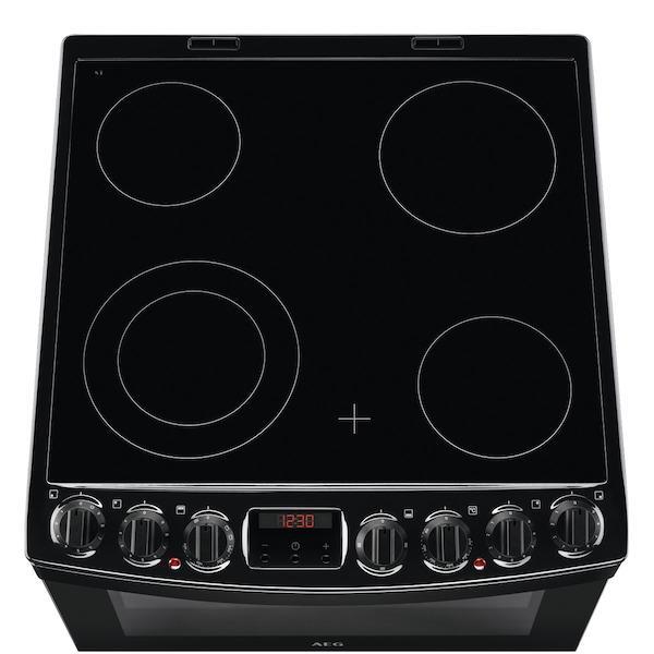 AEG CCB6740ACB 60cm Ceramic Cooker