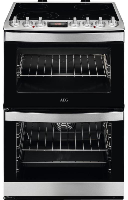 AEG CCB6740ACM 60cm Ceramic Cooker