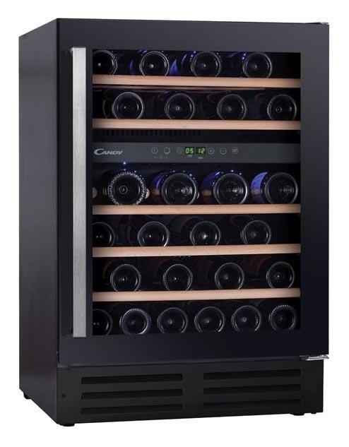 Candy CCVB60DUK/N 60cm Black Dual Zone Wine Cooler