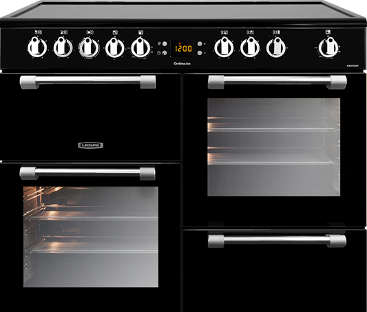 Leisure CK100C210K Black Cookmaster 100cm Electric Range Cooker