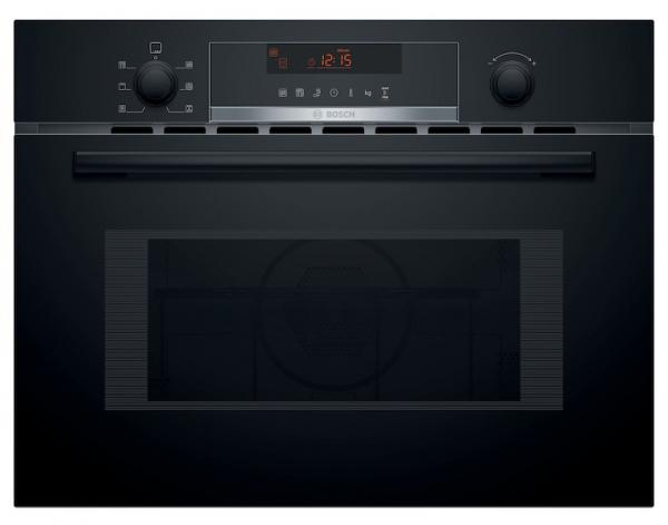 Bosch CMA583MB0B Built-In Black Combi Microwave Oven