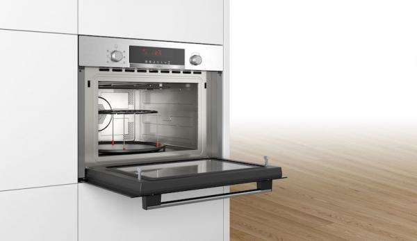 Bosch CMA583MS0B Built-In 45cm Combi Microwave Oven