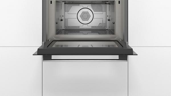 Bosch CMA585MB0B Black Combi Microwave Oven