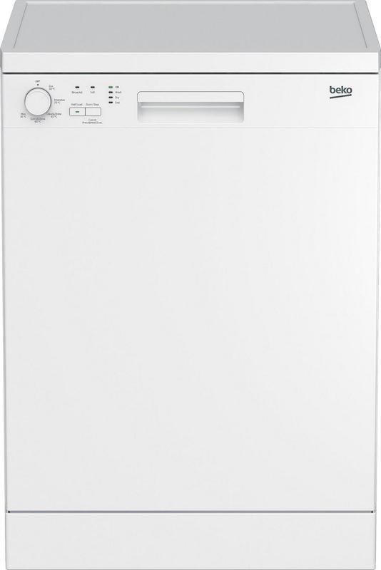 Beko DFN05320W 60cm White Dishwasher