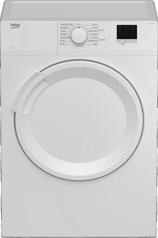 Beko DTLV70041W Vented Tumble Dryer