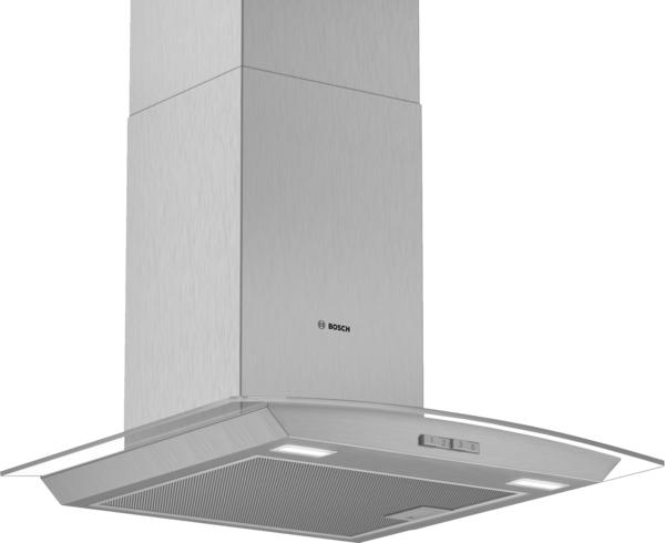 Bosch DWA64BC50B 60cm Flat Glass Chimney Hood