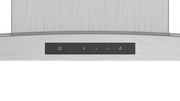 Bosch DWA66DM50B 60cm Curved Glass Chimney Hood
