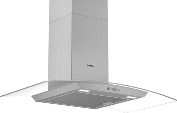 Bosch DWA94BC50B 90cm Curved Glass Chimney Hood