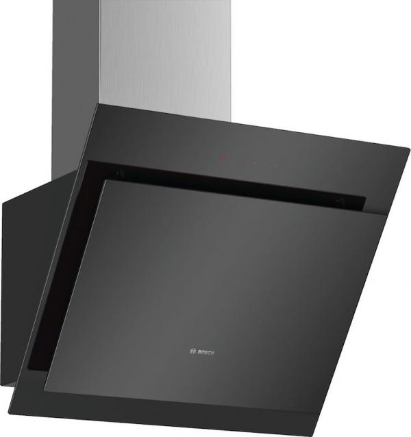 Bosch DWK67CM60B 60cm Angled Glass Chimney Hood