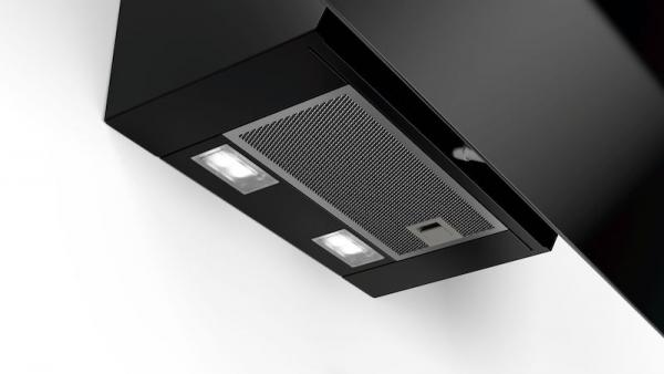 Bosch DWK87EM60B 80cm Black Chimney Hood