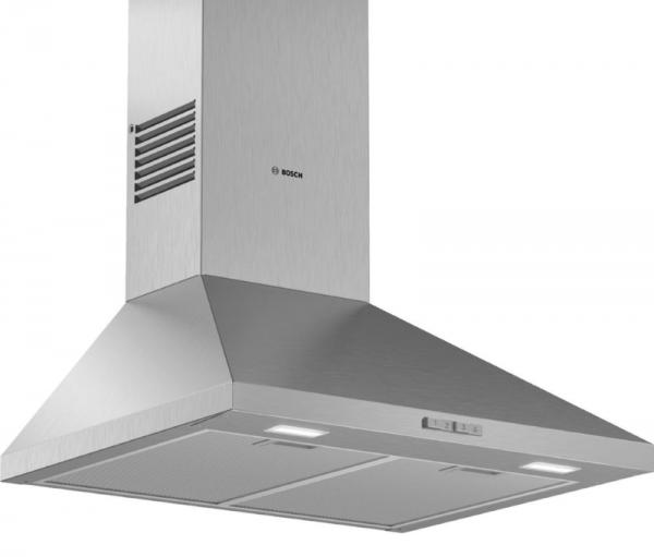 Bosch DWP64BC50B 60cm Stainless Steel Chimney Hood
