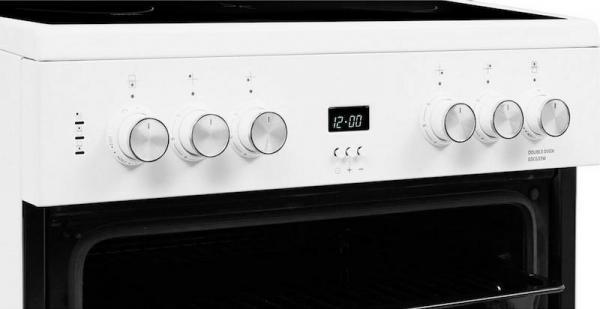 Beko EDC633W 60cm Ceramic Cooker