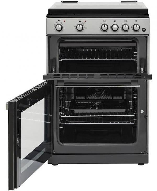 Belling FSDF608DSIL 60cm Dual Fuel Cooker