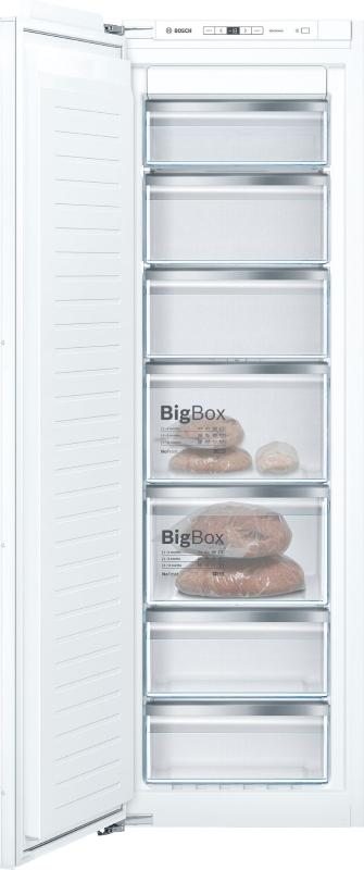 Bosch GIN81AEF0G Integrated Tall Frost Free Freezer