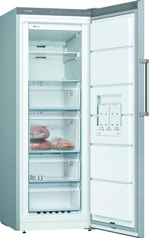 Bosch GSN29VLEP 161cm Tall Frost Free Freezer