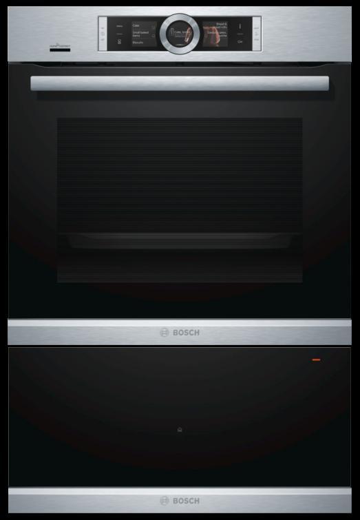 Bosch HBG656RS6B / BID630NS1B - Single Oven / Warming Drawer Pack