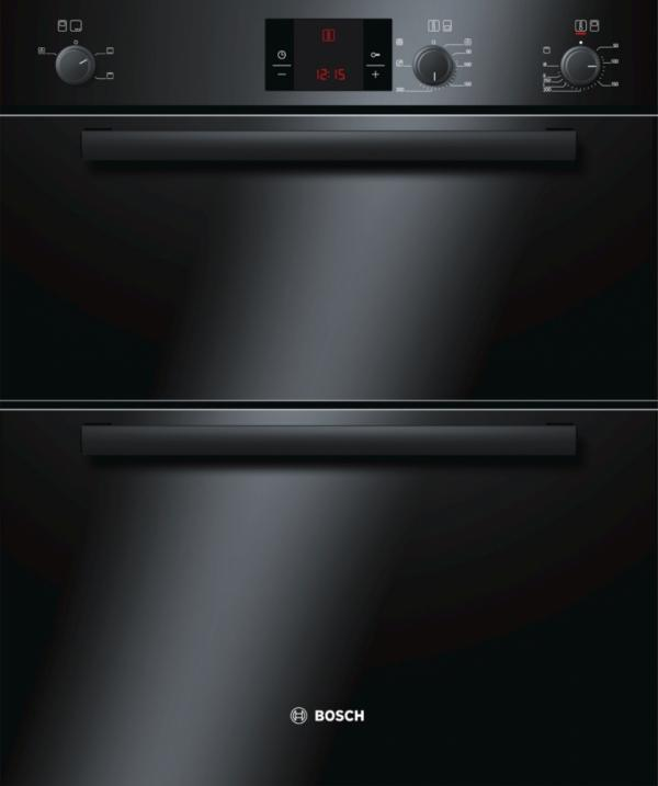 Bosch HBN13B261B Built-Under Double Oven