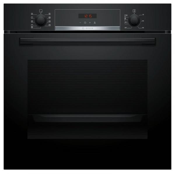 Bosch HBS573BB0B Pyrolytic Black Single Oven