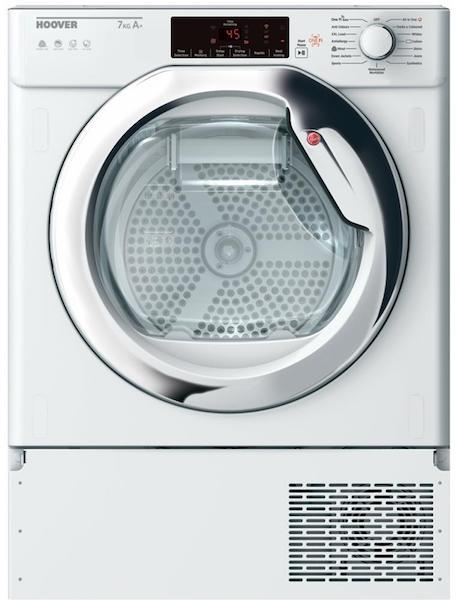 Hoover HBTDWH7A1TCE-80 Integrated Condenser Dryer with Heat Pump