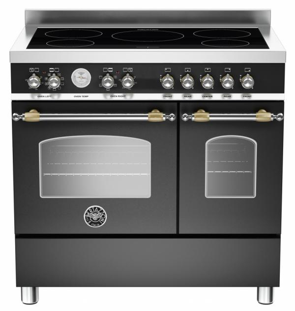 Bertazzoni HER90-5I-MFE-D-NET 90cm Heritage Induction Range Cooker