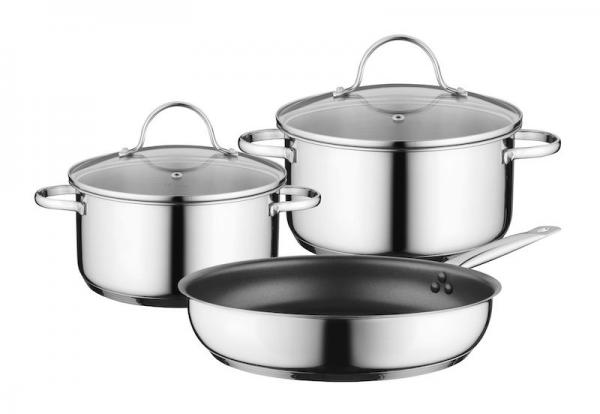 Bosch HEZ9SE030 3 Piece Induction Pan Set