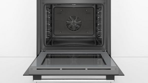 Bosch HRS538BS6B HomeConnect Single Oven With Added Steam