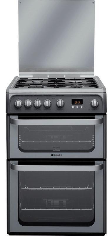 Hotpoint HUG61G 60cm Graphite Gas Cooker