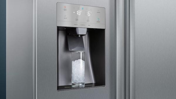 Siemens KA93DVIFPG American Side by Side Fridge Freezer with Plumbed Ice & Water