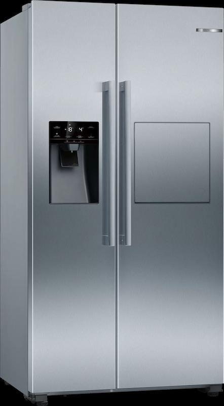 Bosch KAG93AIEPG Plumbed Ice & Water Side by Side Fridge Freezer