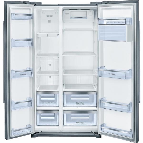 Bosch KAN90VI20G American Side by Side Fridge Freezer