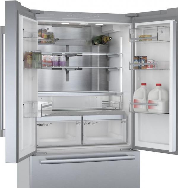 Bosch KFF96PIEP French Door Fridge Freezer